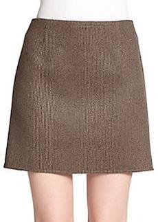 Marc Jacobs Striped Wool Mini Skirt