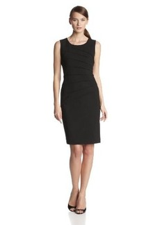 Calvin Klein Women's Sleeveless Starburst Sheath Dress