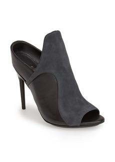 3.1 Phillip Lim 'Aria' Leather & Suede Peep Toe Mule Sandal (Women)