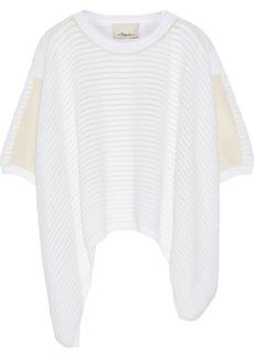 3.1 Phillip Lim Asymmetric cotton-blend sweater