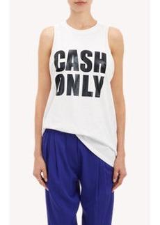 "3.1 Phillip Lim ""Cash Only"" Tank"