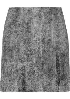 3.1 Phillip Lim Coated leather mini skirt