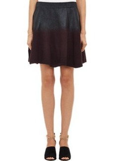 3.1 Phillip Lim Coated Top Flare Skirt