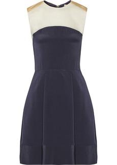 3.1 Phillip Lim Color-block silk mini dress