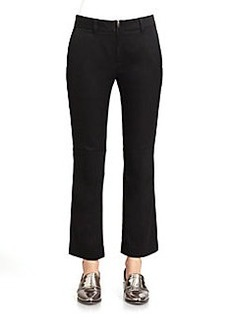 3.1 Phillip Lim Cropped Straight-Leg Pants