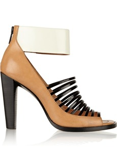 3.1 Phillip Lim Dede glossed-leather sandals