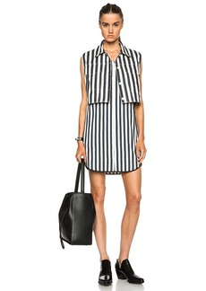 """3.1 phillip lim <div class=""""product_name"""">2 Piece Dress with Striped Shirting Under Layer</div>"""