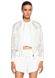 """3.1 phillip lim <div class=""""product_name"""">Bomber with Drawstring Cinched Hem</div>"""