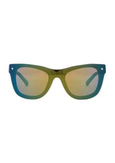 "3.1 phillip lim <div class=""product_name"">Chrome Mirrored Sunglasses</div>"