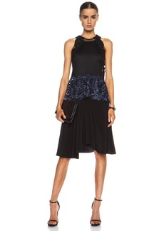 """3.1 phillip lim <div class=""""product_name"""">Embroidered Lace Tank Silk Dress</div>"""