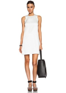 """3.1 phillip lim <div class=""""product_name"""">Embroidered Ric Rac A Line Acetate-Blend Dress</div>"""
