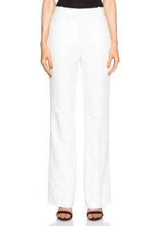 """3.1 phillip lim <div class=""""product_name"""">High Waisted Slim Flare Viscose-Blend Trouser</div>"""