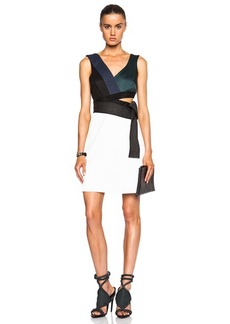 """3.1 phillip lim <div class=""""product_name"""">Judo Belted Cut Out Dress</div>"""