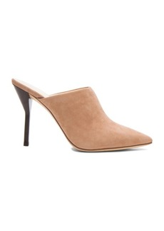 """3.1 phillip lim <div class=""""product_name"""">Martini High Heel Suede Mules</div>"""