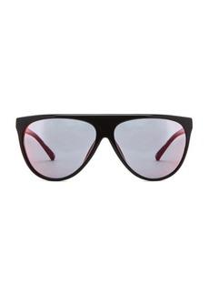 "3.1 phillip lim <div class=""product_name"">Mirrored Flat Top Aviator Sunglasses</div>"