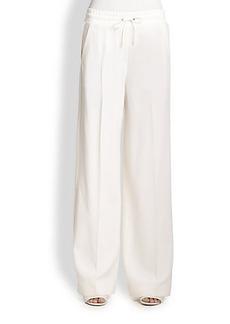 3.1 Phillip Lim Drawstring Wide-Leg Wool Pants