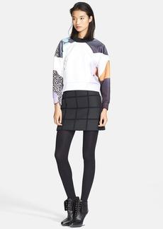 3.1 Phillip Lim Drop Shoulder Crop Sweatshirt