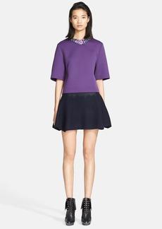 3.1 Phillip Lim Embellished Neck Oversized Shirt