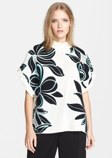 3.1 Phillip Lim Embroidered Cotton Blend Sweater
