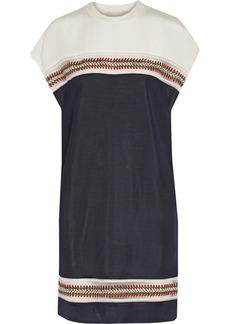 3.1 Phillip Lim Embroidered jersey mini dress