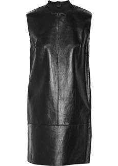 3.1 Phillip Lim Fringed leather mini dress