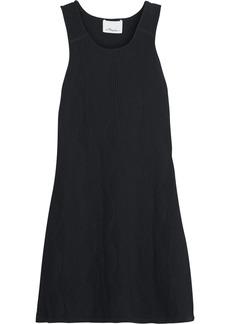 3.1 Phillip Lim Geometric jacquard-knit mini dress