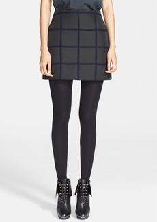 3.1 Phillip Lim Grid Miniskirt