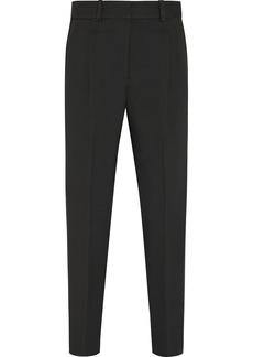 3.1 Phillip Lim Grosgrain-trimmed crepe straight-leg pants