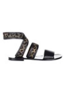 3.1 Phillip Lim Jacquard & Leather Jenny Sandals