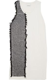 3.1 Phillip Lim Knitted cotton-blend mini dress