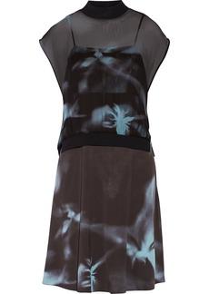 3.1 Phillip Lim Layered silk-chiffon dress