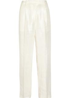 3.1 Phillip Lim Linen-blend wide-leg pants