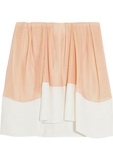 3.1 Phillip Lim Mesh and crepe skirt