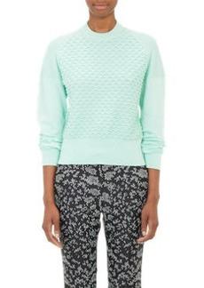 3.1 Phillip Lim Mixed-Stitch Crewneck Sweater