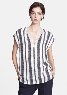 3.1 Phillip Lim Print Silk Twill Top