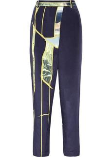 3.1 Phillip Lim Printed silk tapered pants