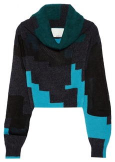 3.1 Phillip Lim Ribbed-knit wool-blend sweater