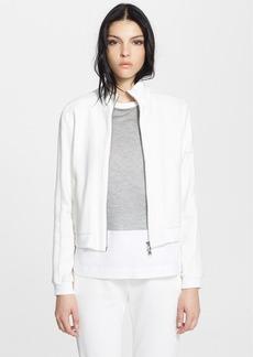 3.1 Phillip Lim Silk Trim Cotton Track Jacket