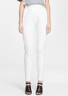 3.1 Phillip Lim Silk Trim Cotton Track Pants