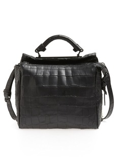 3.1 Phillip Lim 'Small Ryder' Croc Embossed Leather Satchel