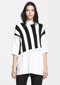3.1 Phillip Lim Stripe Contrast Layered Sweater