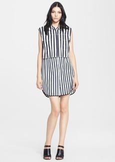 3.1 Phillip Lim Stripe Vest & Slipdress