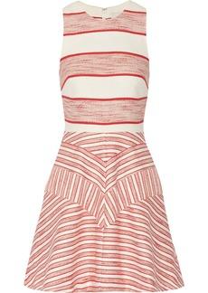 3.1 Phillip Lim Striped bouclé mini dress