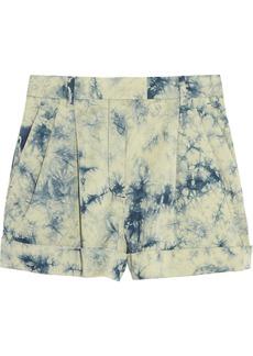 3.1 Phillip Lim Tie-dye stretch-cotton shorts