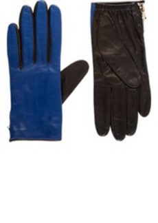 3.1 Phillip Lim Two-Tone Leather Driving Gloves
