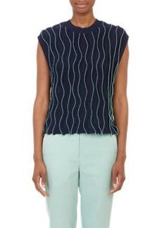 3.1 Phillip Lim Wavy-Stitch Sweater