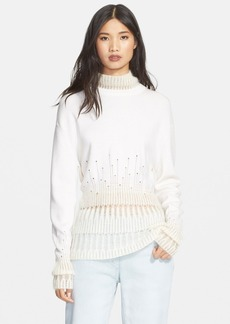 3.1 Phillip Lim Wool & Mohair Turtleneck Sweater
