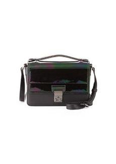 Pashli Mini Flap Messenger Bag, Black   Pashli Mini Flap Messenger Bag, Black