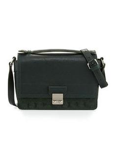 Pashli Mini Leather Messenger Bag, Hunter   Pashli Mini Leather Messenger Bag, Hunter