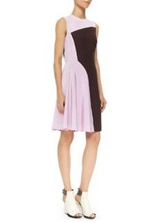 Sleeveless Horizon Colorblock Dress, Mulberry   Sleeveless Horizon Colorblock Dress, Mulberry